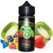 Жидкость DUTY FREE BLACK Bubblegum Kiwi & Strawberry 120 мл 3 мг