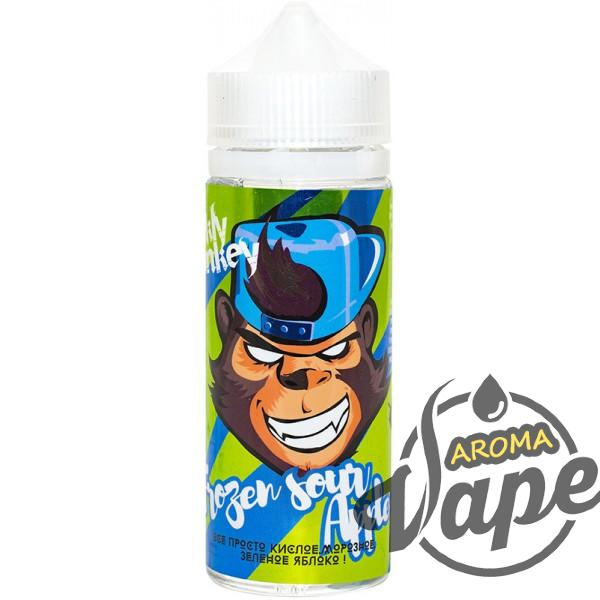 Жидкость Frankly Monkey - Frozen Sour Apple  120 мл,  3  мг/мл